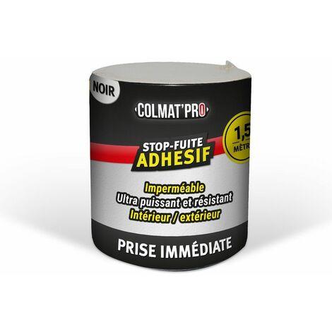 Adhésif anti-fuite COLMAT'PRO 1,50m - Noir