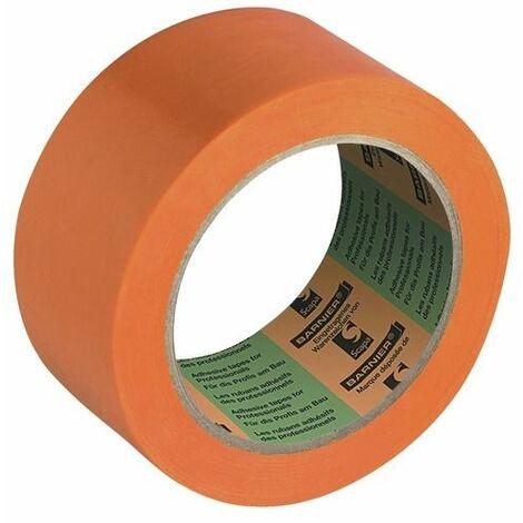 ADHÉSIF D ISOLATION BARNIER 6095 PVC ORANGE 33M X 50MM -115482 - -