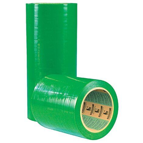 Adhésif de masquage 2500 en polyéthylène, coloris vert, largeur 300 mm, longueur 33 m