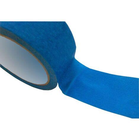 Adhésif de masquage Bleu - 50mm x 25m - ruban de masquage - scotch de masquage