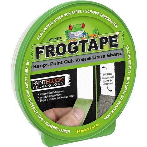 Adhésif de masquage FrogTape Multi-Surface 24mm x 41,1m
