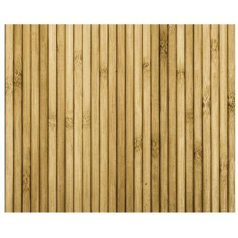 Adhésif décoratif Aspect bambou - 150 x 45cm - Jaune