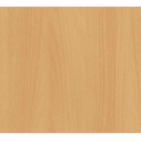 Adhésif décoratif aspect bois hêtre