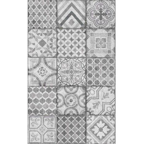 Adhésif Décoratif aspect carreaux de ciment 45cmx1.5m