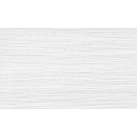Adhésif décoratif Chêne blanchi - 200 x 45 cm - Blanc - Blanc