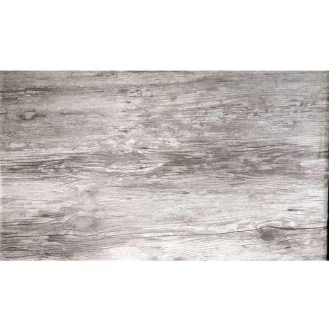 Adhésif décoratif Chêne vieilli - 200 x 45 cm - Gris - Gris clair