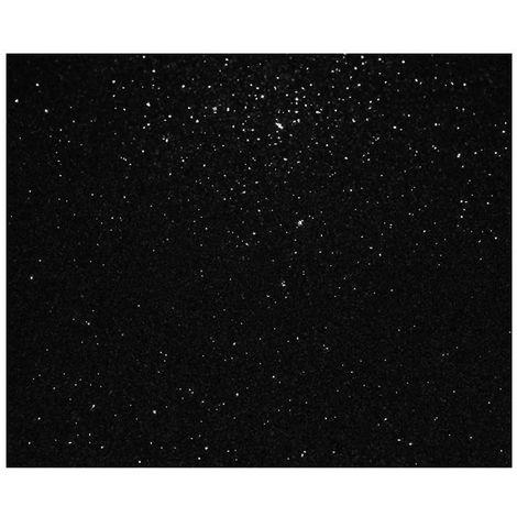 Adhésif décoratif paillette noir - 150 x 45cm - Noir