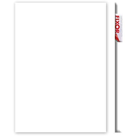 Adhésif décoratif pour meuble Brillant - 200 x 45 cm - Blanc - Blanc