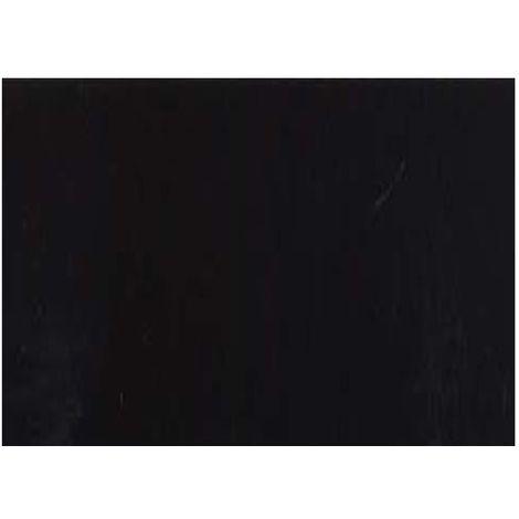 Adhésif décoratif pour meuble Brillant - 200 x 45 cm - Noir - Noir