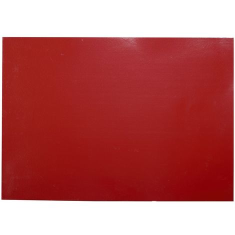 Adhésif décoratif pour meuble Brillant - 200 x 45 cm - Rouge - Rouge