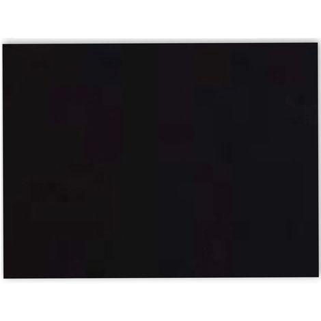 Adhésif décoratif pour meuble Brillant - 200 x 67 cm - Noir - Noir
