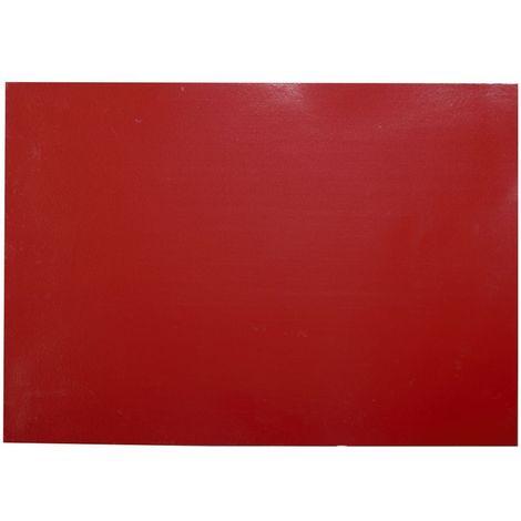 Adhésif décoratif pour meuble Brillant - 200 x 67 cm - Rouge - Rouge