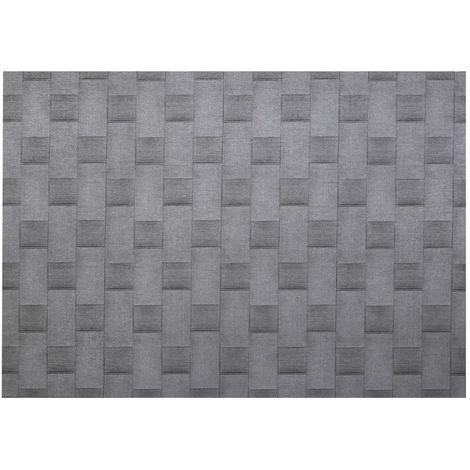 Adhésif décoratif pour meuble effet Bambou - 200 x 45 cm - Gris - Gris