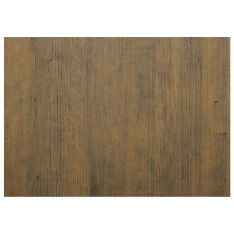 Adhésif décoratif pour meuble effet bois Cerisier - 200 x 45 cm - Marron