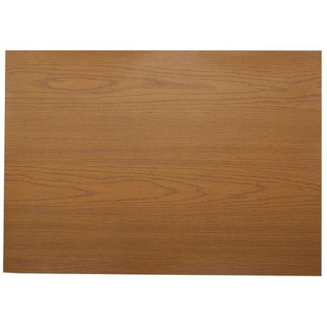 Adhésif décoratif pour meuble effet bois Chêne - 200 x 67 cm - Marron