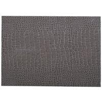 Adhésif décoratif pour meuble effet Croco - 200 x 45 cm - Gris