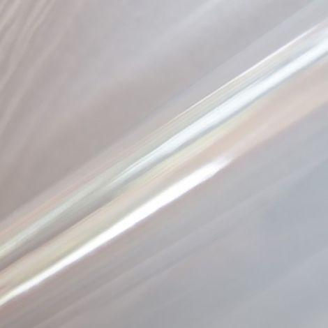 Adhésif décoratif pour meuble imprimé Cristal - 200 x 45 cm - Blanc