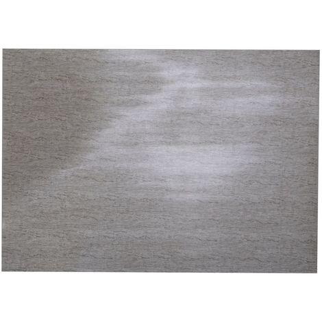Adhésif décoratif pour meuble imprimé Patine - 200 x 45 cm - Argent