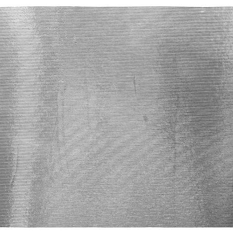 Adhésif décoratif pour meuble Metallique - 150 x 45 cm - Effet tole - Marron