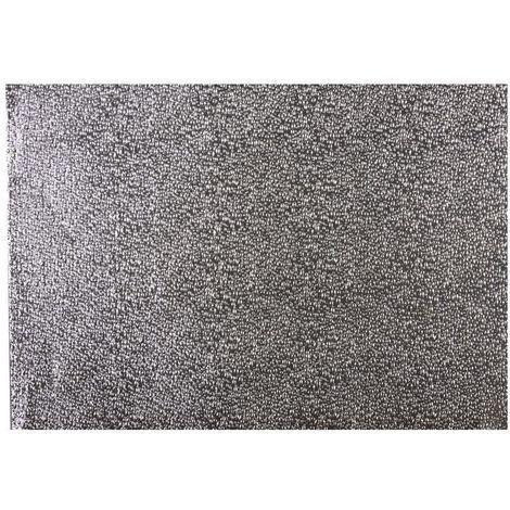 Adhésif décoratif pour meuble Metallique - 150 x 45 cm - Effet wet argent - Gris