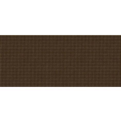 Adhésif décoratif pour meuble vintage effet Vichy - 200 x 45 cm - Taupe - Taupe