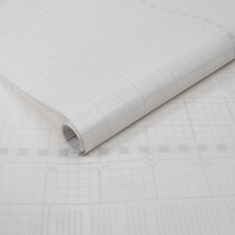 Adhésif décoratif pour vitre Basic opaque blanc 200 x 67,5 cm uni