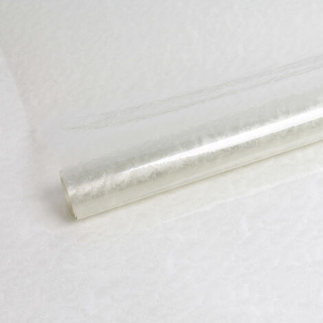 Adhésif décoratif pour vitre Clouds opaque blanc 200 x 45 cm nuage