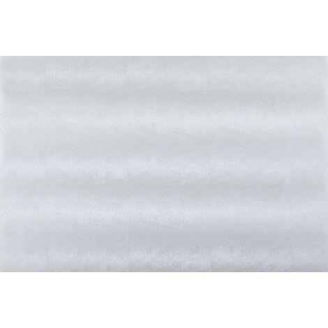 Adhésif décoratif pour vitre Cuir opaque 200 x 67,5cm Blanc
