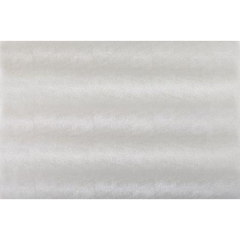 Adhésif décoratif pour vitre Cuir opaque 210 x 90cm Blanc