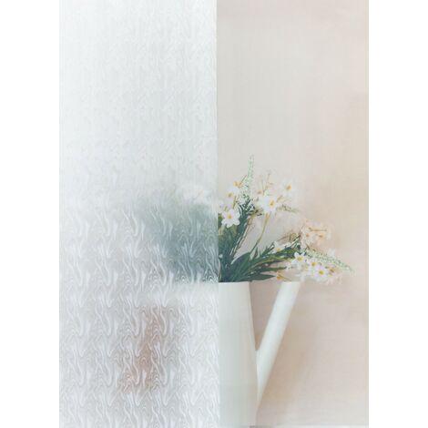 Adhésif décoratif pour vitre Fumée opaque 200 x 67,5cm Blanc