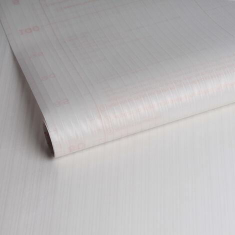 Adhésif décoratif pour vitre Rayures opaque 200 x 67,5cm Blanc