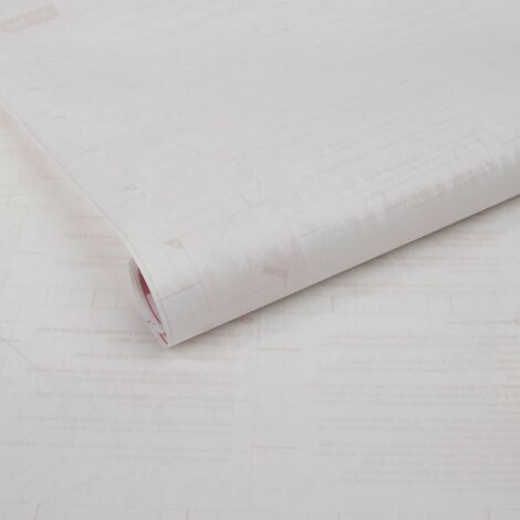 Adhésif décoratif pour vitre Smoke opaque blanc 200 x 67,5 cm fumée