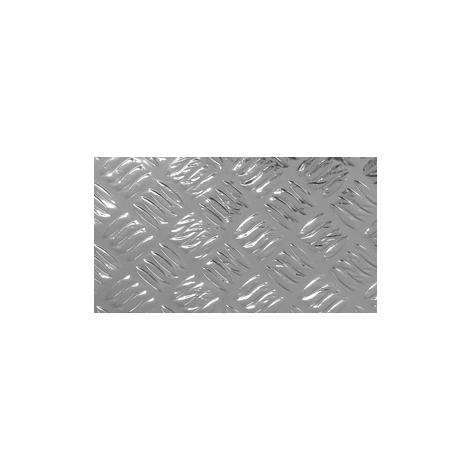Adhésif Effet Criss Cross argenté 45cm x 1,5m