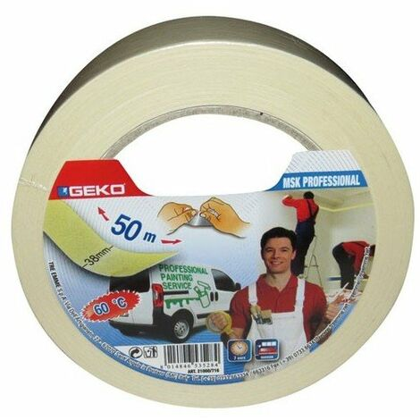 Adhésif papier masquage pro 38 mm x 50 m
