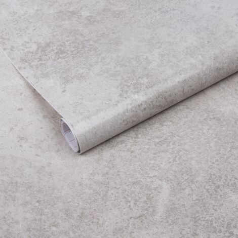 Adhésif rénovation & décoration Béton 200 x 67,5cm Gris