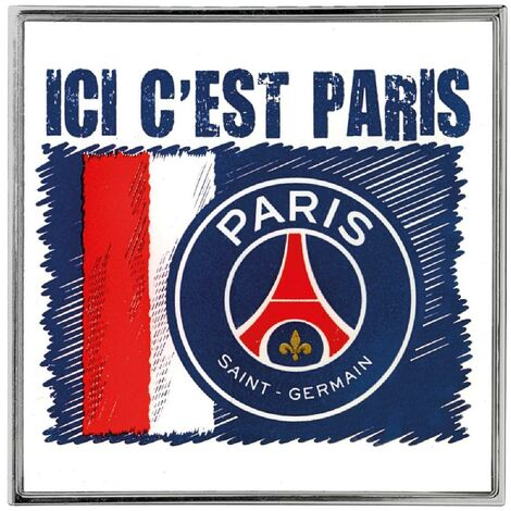 Adhesif Sticker - Embleme PSG Ici c'est Paris Paris Saint Germain
