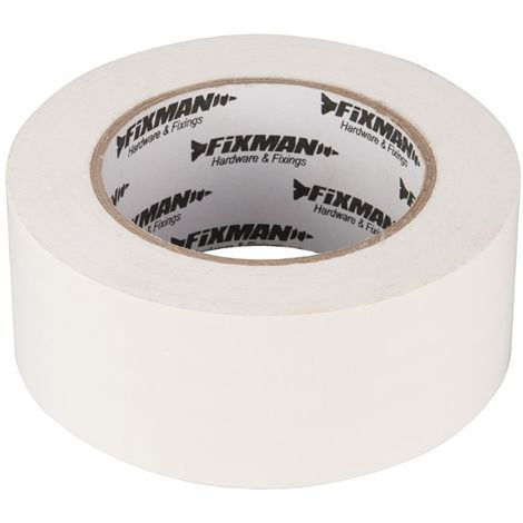 Adhésif toilé ultrarobuste 50 mm x 50 m, Blanc