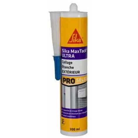 Adhesivo de fijación inmediata para múltiples soportes - SIKA Maxtack Ultra - Blanco - 290ml