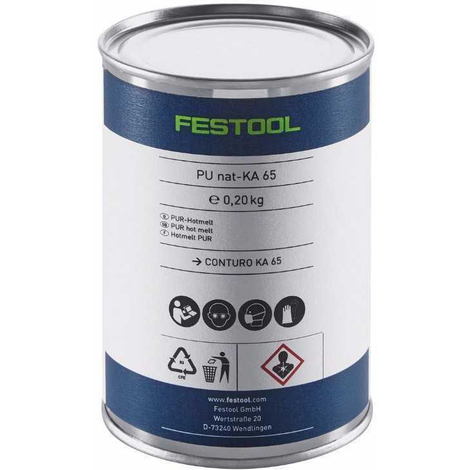 Adhesivo de poliuretano natural PU nat 4x-KA 65 Festool