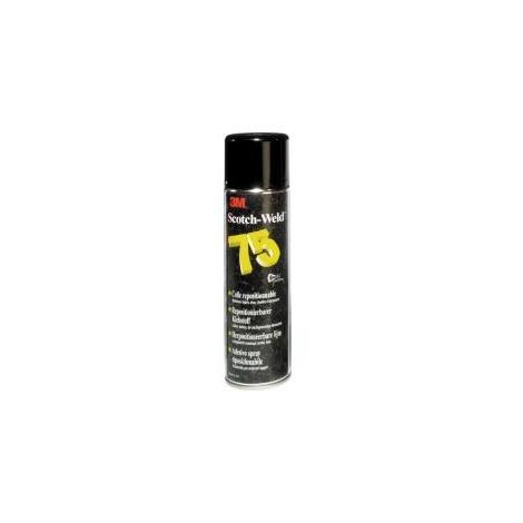 Adhesivo en Spray resposicionable S75 500ml Scotch-Weld 3M