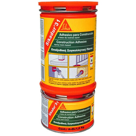 Adhesivo Epoxi SikaDur 31 EF 1kg