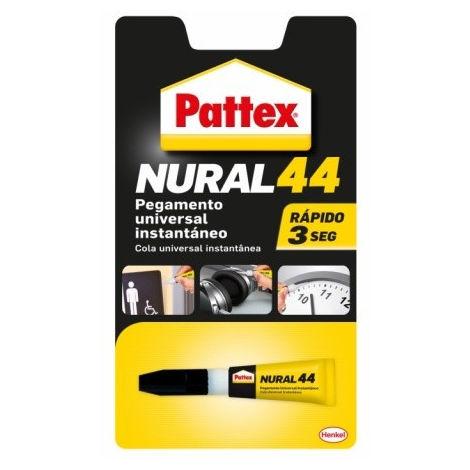 ADHESIVO INSTANTANEO 3 GR NURAL-44 PATTEX