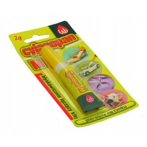 Adhesivo instantáneo cyanopane m flexible 2g 12 pc