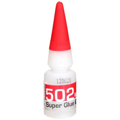Adhesivo instantaneo de Cianoacrilato 8gramos Super Glue 502