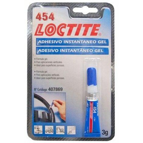 Adhesivo Instantaneo Gel 3 Gr Loctite 454 Loctite