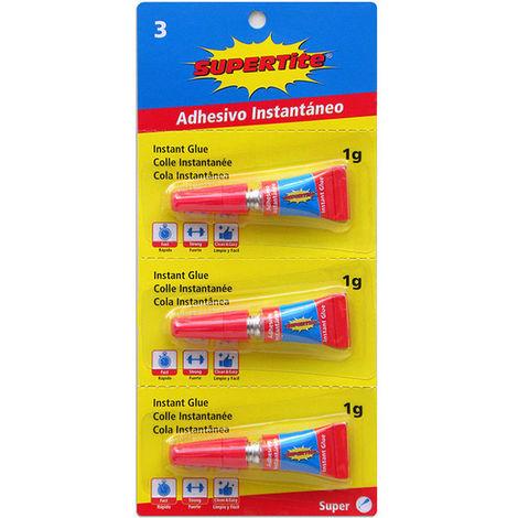 Adhesivo InstantÁneo Monodosis 3 Uds/1g