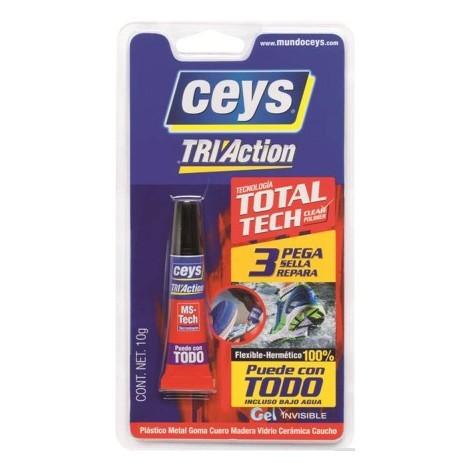Adhesivo Montaje Tri-Action 10 G - CEYS - 507228