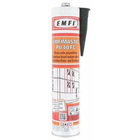 Adhesivo poliuretano EMFI PU 40 FC - negro 300ml - Noir