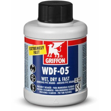 """main image of """"Adhesivo pvc rig/fle gel 250 ml az c/b rap wdf05 bote griffo"""""""