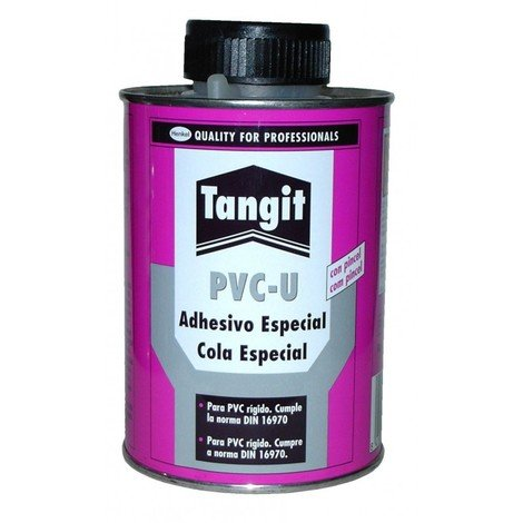 Adhesivo pvc rigido 1 kg bote/pincel tangit
